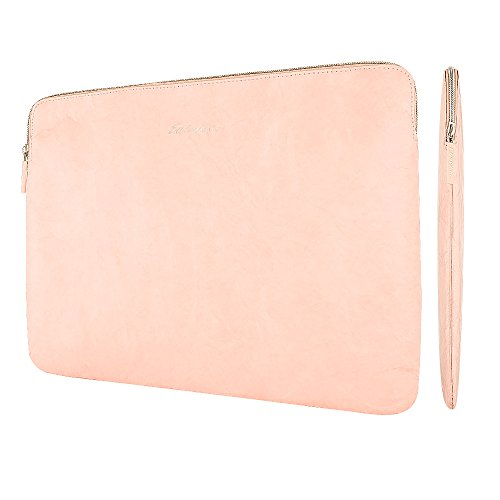 Neue 13 Zoll MacBook Pro Touch Bar Tyvek Tasche, EasyAcc Ultra-schlanke Tasche 13'3 MacBook Air iPad Pro 12.9 Hülle Ultrabook Laptoptasche für 13,3 Zoll MacBook Air/ Pro Retina Sleeve Hülle - Rosa