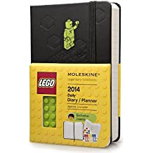 Moleskine 2014 LEGO Limited Edition Daily Planner, 12 Month, Pocket, Black, Hard Cover (3.5 x 5.5) (Planners & Datebooks) by Moleskine (2013-05-22)