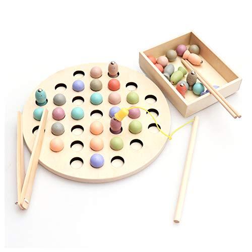 es Spielzeug Für Babys, Angelspielzeug Für Kinder, Magnetische Angelspielzeugsets Aus Holz, 3- Bis 6-Jährige Jungen Und Mädchen Lehrmittel. ()