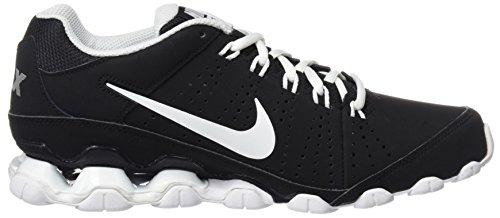 Nike Herren Reax 9 Tr Turnschuhe, 9,5 UK / 44,5 EU / 10,5 US Schwarz / Weiß / Silber (Schwarz / Weiß-Pr Platinum-weiß)