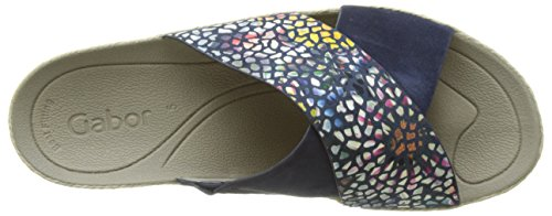 Gabor Shoes Fashion, Ciabatte Donna Blu (river/blue 46)