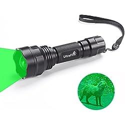 Ultrafire Linterna Verde UF-1505