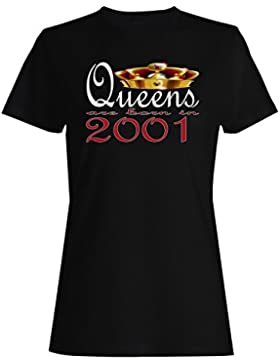 Nacieron nuevas reinas de diseño artístico en 2001 camiseta de las mujeres b737f