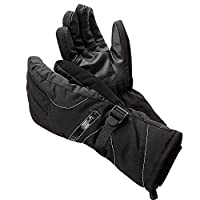 Winter Warm Riding Windproof Waterproof Men and Women Plus Velvet Thick Cotton Bike Anti-Skid Outdoor Motorcycle Ski Gloves Tool