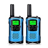 Walkie Talkies, Kids Walkie Talkies and Long Range Two-Way Radio for Kids Toys (Blue)
