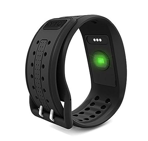Grünes Licht Bluetooth 4.0ANT Echtzeit-Herzfrequenz Armband (Büro Platz Klapptisch)