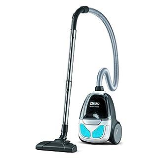 Zanussi ZAN1930UEL Pet Cyclone Classic Bagless Vacuum Cleaner, 800 W - Ice White/Blue