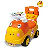 GoodLuck Baybee - Kids Ride On Push Car Toy With Music For Babies Car Children Rider & Small Toy Toddlers Baby Toys | Suitable Toy Car Kids For Boys & Girls (1-2 Years) (Orange)