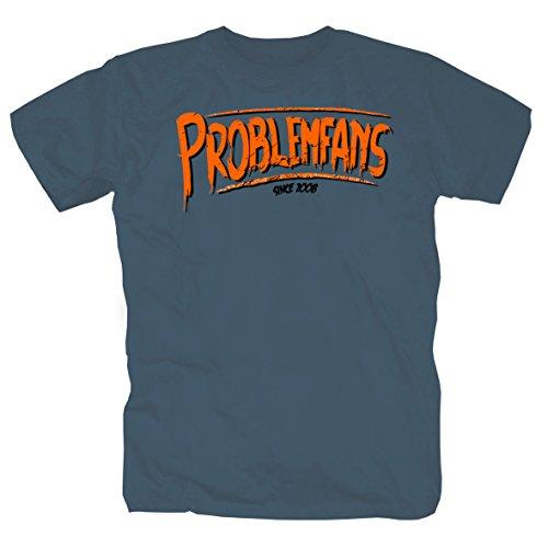 Problemfans no figt-no Glory -T-Shirt (XXXL)