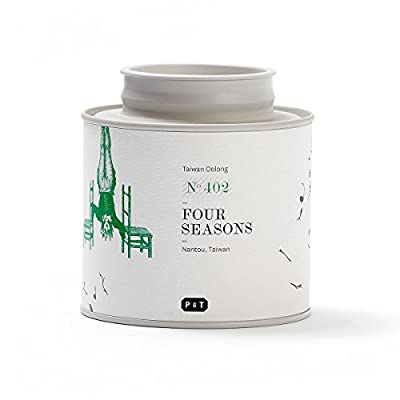Paper & Tea Four Seasons Of Spring - Thé Oolong Premium Bio Nantou Taiwan Vrac 100 gr …