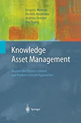 Knowledge Asset Management: Beyond the Process-centred and Product-centred Approaches (Advanced Information and Knowledge Processing) by Gregoris Mentzas (2012-10-17)