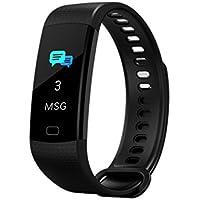 Montre Fitness Fitness Touch Screen Bracelet de Sport Marchandises Cardio-fréquencemètre Tension artérielle Surveillance de l'oxygène Sport Bracelet Applicable à la Course à Pied de Montagne Escalade