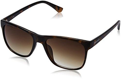Fastrack UV Protected Square Men\'s Sunglasses - (P380BR4|57|Green Color)