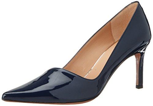 Oxitaly Damen Stefy 02 Pumps, Blau (Marine), 40 EU (Patent Blau Leder Marine Schuhe)