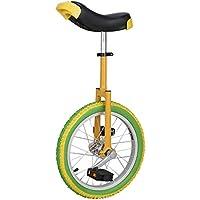 ZSH-dlc Monociclo Individual Redondo Adulto Adulto Altura Ajustable Balance Ciclismo Ejercicio 16/18/20 Pulgadas (Tamaño : 16 Inch)