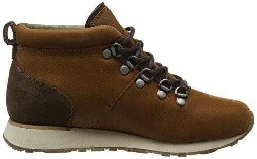 El Naturalista Unisex-Erwachsene Nd62 Pleasant-Lux Suede Wood-Brown/ Walky High-Top Braun (WOOD-BROWN NNK)