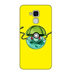 Happoz Huawei Honor 5C Cases Back Cover Mobile Pouches Shell Hard Plastic Graphic Armour Premium Printed Designer Cartoon Girl 3D Funky Fancy Slim Graffiti Imported Cute Colurful Stylish Boys D428