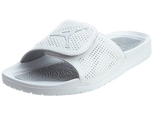Nike Youths Jordan Hydro 5 BG Leather Sandals Weiß Grau