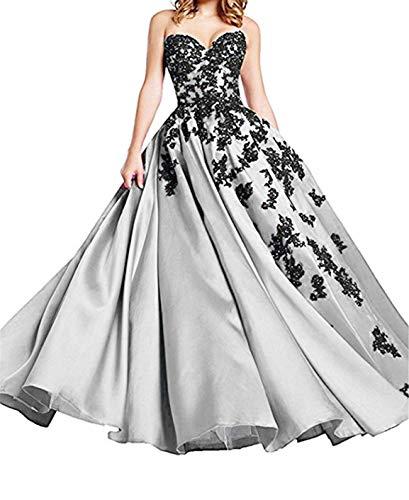 O.D.W Damen Spitzenkleid A-Linie Vintage Party Brautkleider Gotisch Mittelalterliches...