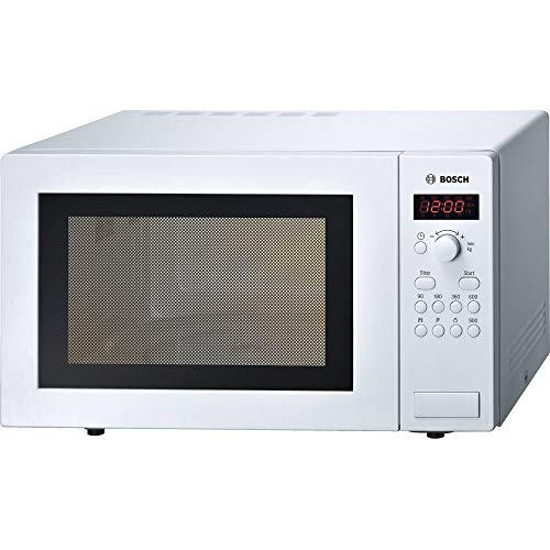 41umrMaAGvL. SS500  - Bosch Series 2 HMT84 M461B Black Freestanding Microwave with 900W, 25 litres Capacity, 5 Power Levels and LED Display