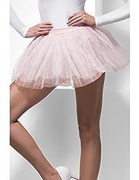 Vestido para mujer y niña, disfraz para despedida de soltera, despedida de soltera, fiesta de los 80, diseño de Madonna Dance Tutu rosa Tutu Pink talla única