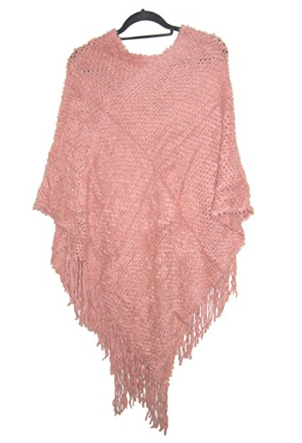 Closet Full of Clothing - Poncho -  donna Pink