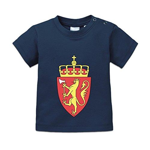 Norwegen Wappen Baby T-Shirt by Shirtcity (Norwegen Wappen)