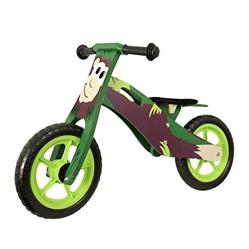 Vinz Kinderlaufrad | Laufrad Lernlaufrad Lauflernrad | ab 2 Jahre | Kinder Fahrrad Zweirad Kinderzweirad | Affe