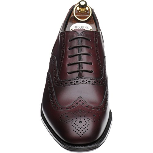 Herring  Herring Richmond, Richelieu homme Rouge - Burgundy Burnished Calf