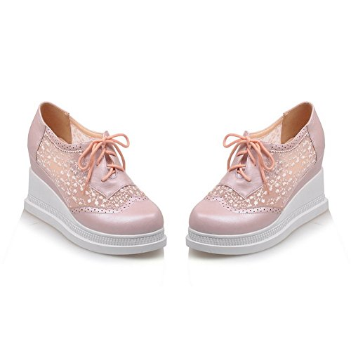 Unknown, Pink Femme Chaussures À Talons Hauts