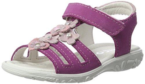 Ricosta Mädchen Chica Sandalen, Pink (Candy), 31 EU
