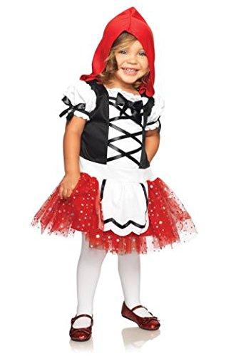Leg Avenue C28170 - Kleinkind Rotkäppchen Kostüm, Größe 98-116, (Deutschen Kleinkind Kostüm Mädchen)