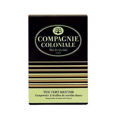 Compagnie Coloniale - Thé Vert Menthe - Boite Berlingo©25 sachets