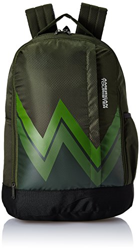 Buy American Tourister AMT TWIST BACKPACK 02 28 Ltrs Olive Casual Backpack Online at Best Price in India