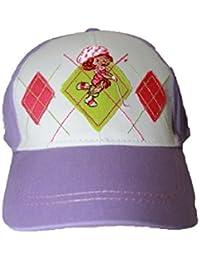 charlotte aux fraises-casquette-violette-fille
