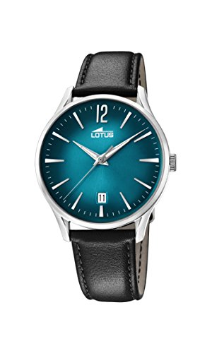 Lotus Watches Mens Analogue Classic Quartz Watch with Leather Strap 18402/5