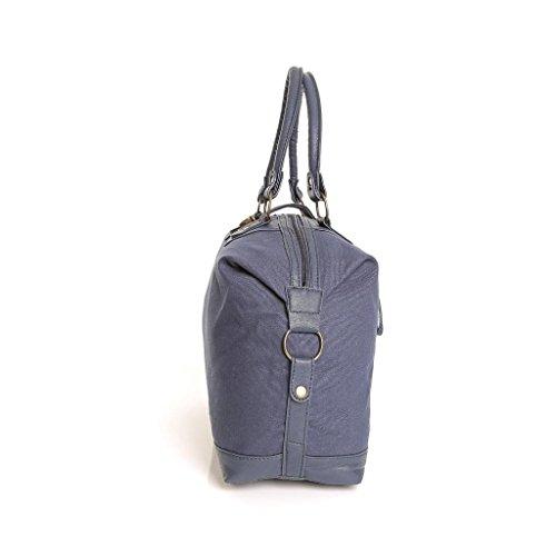 Karabar Frauen Leinwand über Nachttasche (Bordeaux) Blau