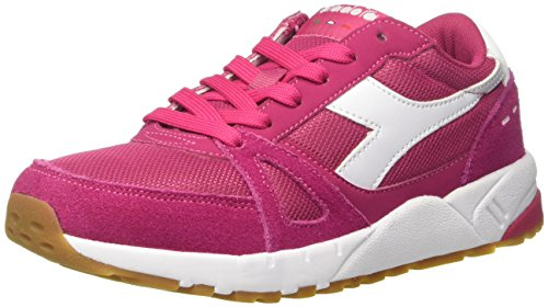 Diadora Run 90, Sneaker Basses Mixte Adulte Rose (Rosa Brillante)