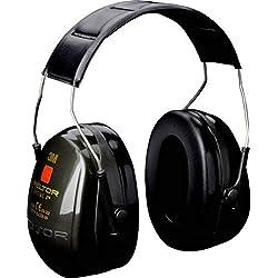 3M Peltor Bull's Eye II - Casque antibruit pour stand de tir et chasse - Serre-tête pliable - Atténuation 31 dB - 1 x casque de protection auditive en vert