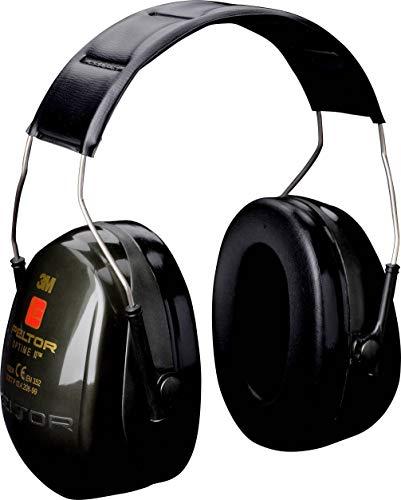 3M Peltor Bull's Eye II Kapselgehörschutz grün - Nicht-elektronischer & faltbarer Ohrenschützer speziell für Jäger und Sportschützen - SNR 31dB Hörschutz auch bei hohen Lautstärken (Baby Ear Muffs)