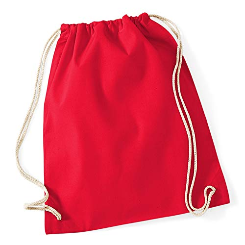 Westford Mill - Cotton Gymsac/Classic Red, 46 x 36 cm