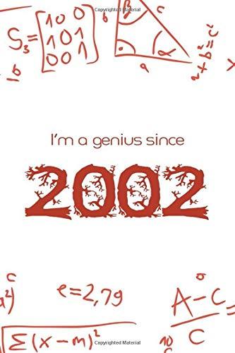 I'm a genius since 2002 : Maths