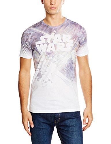 Rockoff Trade Herren T-Shirt Star Wars Dogfight Sublimation Mehrfarbig