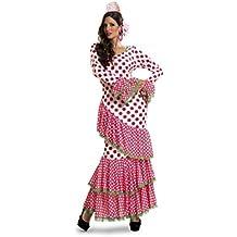 My Other Me - Disfraz de Flamenca, talla M-L, color rojo (Viving Costumes MOM01116)