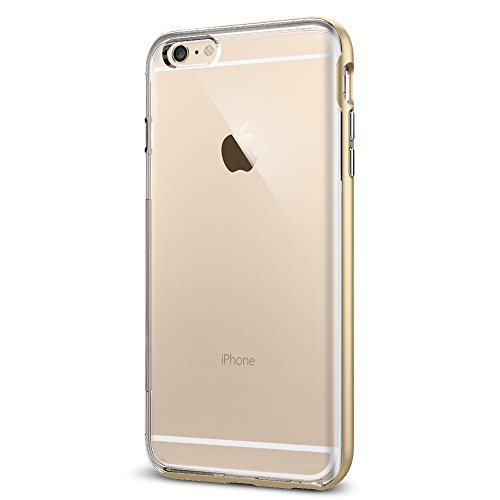 iPhone 6S Plus Hülle, Spigen® [Neo Hybrid EX] Dual-Layer Schutzrahmen [Champagne Gold] TPU Schale + PC Farbenrahmen / 2-teilige Premium Handyhülle / Schutzhülle für iPhone 6 Plus / 6S Plus Case, iPhone 6 Plus / 6S Plus Cover - Champagne Gold (SGP11669) (Spigen Neo Hybrid 6 Series Iphone)