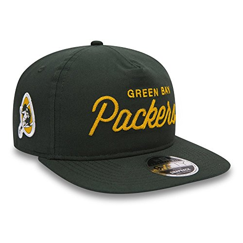 New Era NFL Green Bay Packers Retro Oxford A Frame 9Fifty Cap