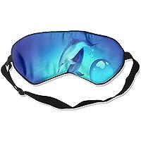 Comfortable Sleep Eyes Masks Dolphin Printed Sleeping Mask For Travelling, Night Noon Nap, Mediation Or Yoga preisvergleich bei billige-tabletten.eu