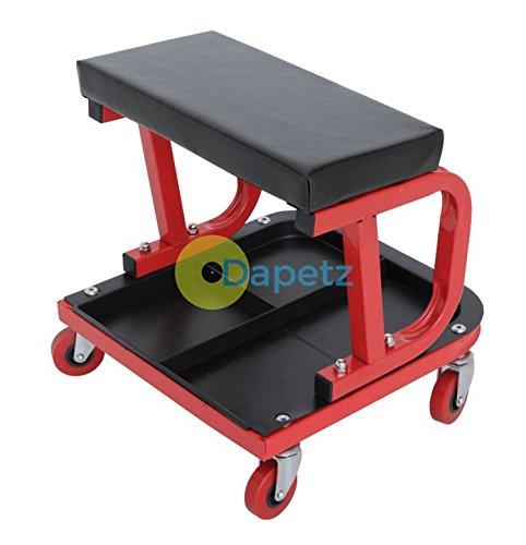 dapetz-r-mechanics-padded-creeper-trolley-seat-car-van-garage-workshop-stool