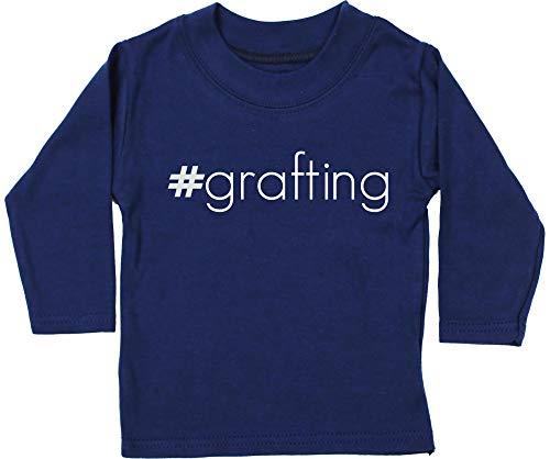 HippoWarehouse #Grafting Camiseta Unisex bebé Manga Larga