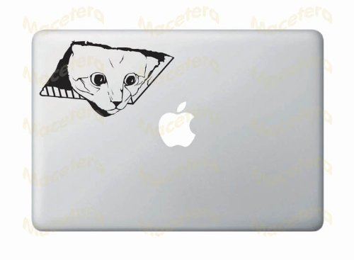 Ceiling Cat - MacBook or Laptop Vinyl Transfer Decal Sticker (Black) (Ipad Der 3. Fall Snow White)